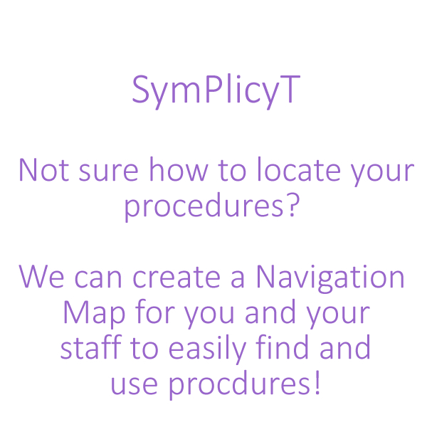 SymPlicyT Create Navigation Maps